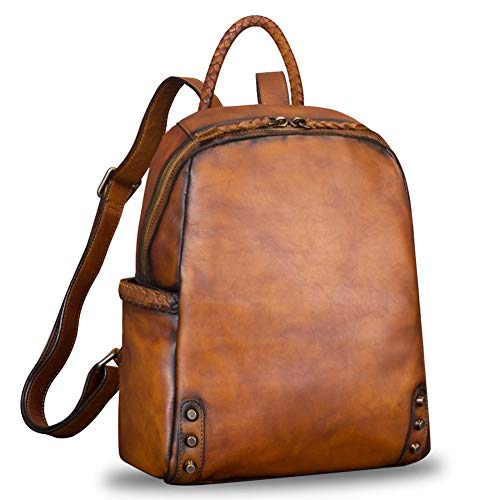 Genuine Leather Backpack for Women
