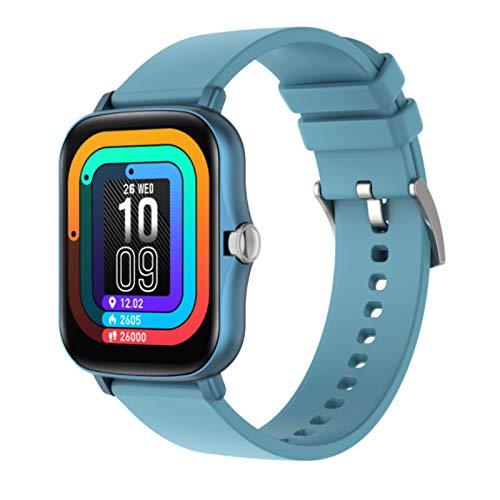 Y20 Smart Watch,GPS Waterproof Screen Fitness Watch,with Heart Rate Monitor,Pedometer,Sleep Monitor,Silent Alarm Clock,Super Battery Life,Slim Smart Bracelet(Blue)