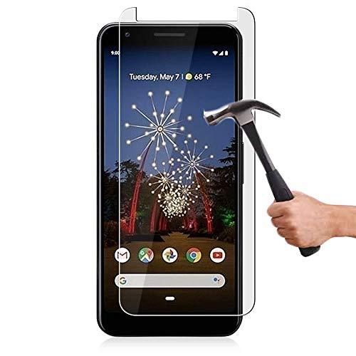Lapinette Protector de Pantalla Compatible con Google Pixel 3A XL - 2 Piezas - Protector de Pantalla Vidrio Templado - Película Protectora Cristal Templado - 9H Force Glass Ultrarresistente