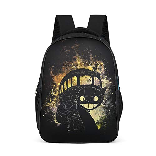 Cyliyuanye CatBus Fashion Kids' Backpack School Book Bag For kids Adults Gift For Boys Girls bright gray onesize