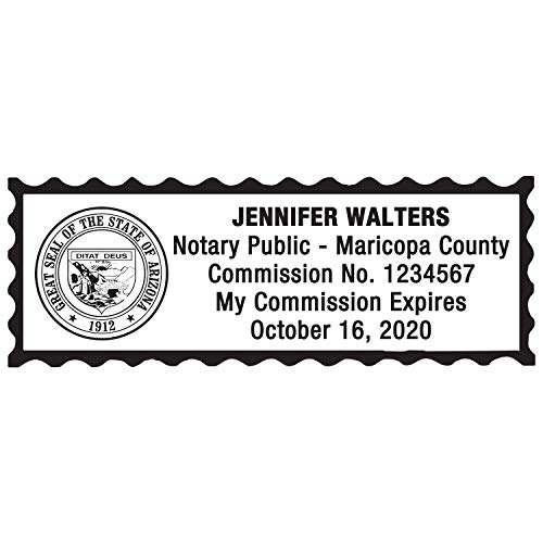 Notary Stamp for State of Arizona- Self Inking Stamp, Customize Online