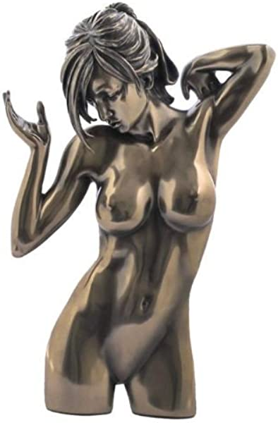 10 5 Inch Nude Female Wall Plaque Statue Erotic Naked Woman Women Art