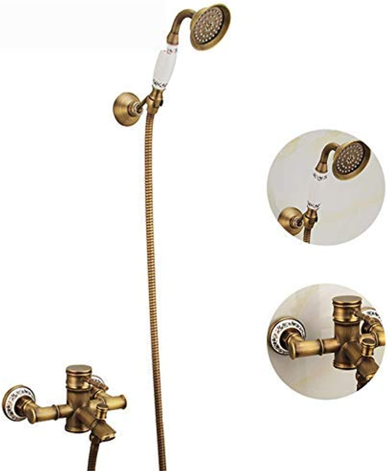 Janitorial & Sanitation Supplies Janitorial & Sanitation Supplies Lpophy Bathroom Sink Mixer Taps Faucet Bath Waterfall Cold and Hot Water Tap for Washroom Bathroom and Kitchen Stainless Steel Double Hole Hot and Cold Oblique Seven Tube