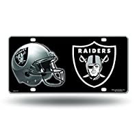 NFL Rico Industries Metal License Plate Tag, Oakland Raiders