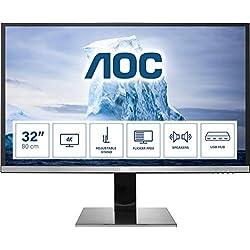 AOC U3277PWQU LCD Monitor 32´´, risoluzione 3840x2160
