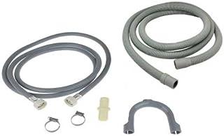 spares2go Abflussschlauch f/ür Electrolux Geschirrsp/üler 1,5/m, 18/mm//22/mm