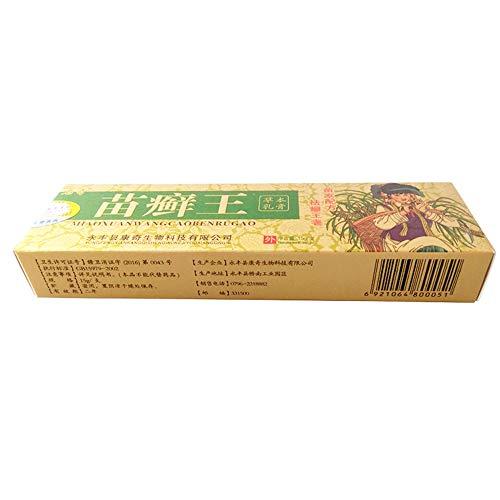 BEENIMED Natürliche Kräutersalbe, Traditionelle Chinesische Medizin Salbe, Topische Hautsalbe, Antibakterielle und juckreizhemmende Medizin, gegen trockene Haut oder Ekzeme(1 Stück)