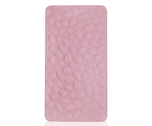 Pebble Pure Crib Mattress, Blush