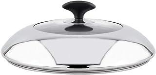 perfk Cacerola de Vidrio Templado Cacerola Sartén Tapa (16 cm, 18 cm, 28 cm, 30 cm, 32 cm. 40 cm) Tapas de Repuesto para sartenes y ollas - 30cm