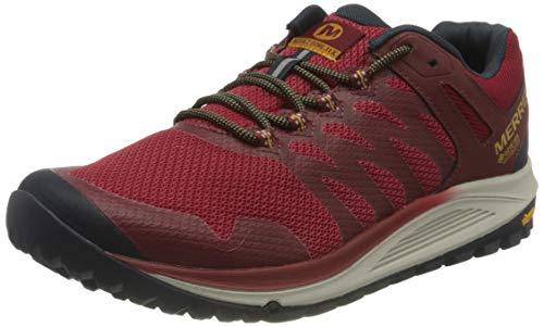 Merrell Nova 2 GTX, Zapatillas para Caminar Hombre, Rojo (Brick), 43 EU