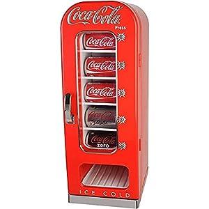Coca Cola CVF18 Frigorífico expendedor, Estilo Retro, 10 latas ...