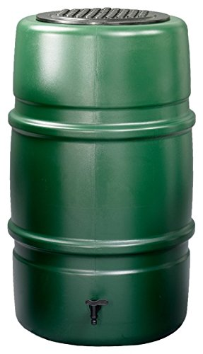 Harcostar 227 litre Water Butt Kit (green) including stand