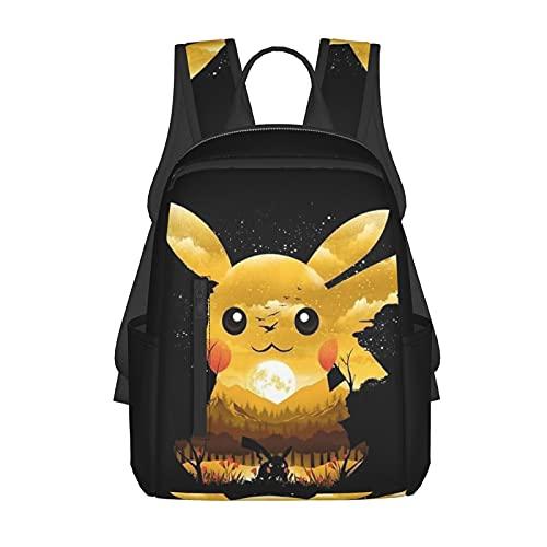 Sac à dos Pokémon Anime Sac à bandoulière réutilisable pour enfants Sac fourre-tout en tissu cadeau fille garçon pour l'école