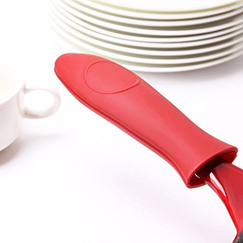 Heat Protecting Silicone Hot Handle Holder,Pot Cast Iron Skillets and Metal Frying Pans