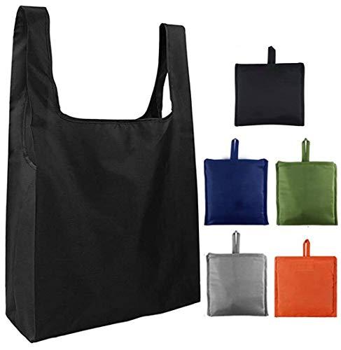 エコバッグ 折りたたみ 5個セット 買い物袋 エコバッグ 防水 大容量 ショッピングバッグ 折りたたみ エコバッグ 水洗い可 繰り返し使用 買い物袋 TANIKOO