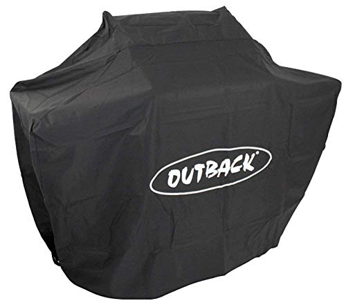 Outback Premium BBQ Cover To Fit Dual Fuel 4 Burner > Water resistant and breathable protective cover with high thread count - OUT370641