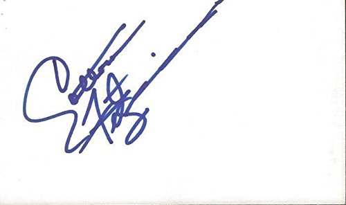 Cotton Fitzsimmons Autographed Photo - 3x5 Index Card - NBA Cut Signatures