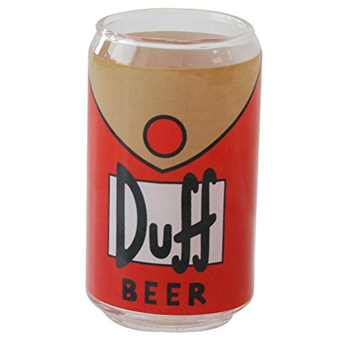 Simpsons The Duff Beer Glass