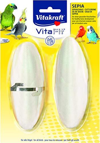 Vitakraft osso di seppia/blister per uccello taglia S 2pezzi