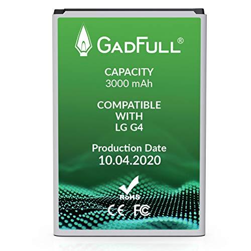 GadFull Batería de reemplazo para LG G4 | 2020 Fecha de producción | Corresponde al Original BL-51YF | Compatible con LG G4 | G4 Dual Sim | G4 Stylus | H815 | H818P | H635