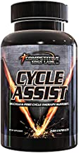 Cycle Assist by CEL: All-in-One On Cycle Support with Advanced Liver Assist and Organ Protection. 60 servings. Includes Milk Thistle, Saw Palmetto, and Hawthorne.