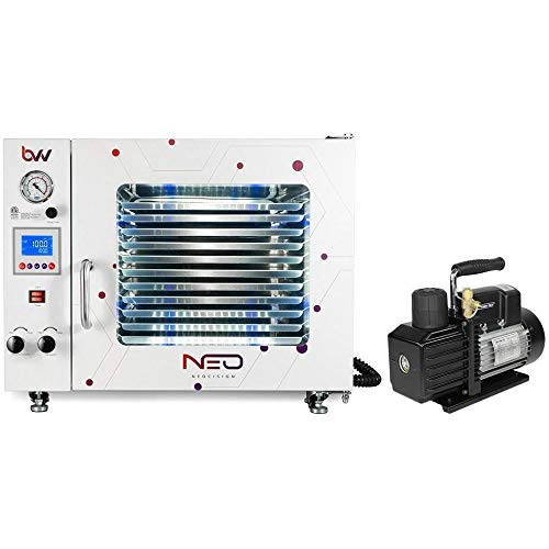 BVV 1.9CF BVV Neocision Lab Certified Vacuum Oven and VE225 Series Pump Kit
