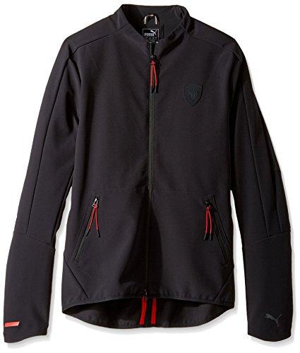 Puma Ferrari Men's T7 Track Jacket (572800 01) (Moonless Night) (Medium)