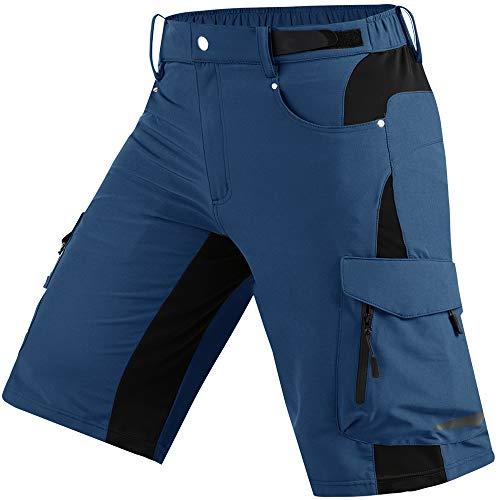 Cycorld Wanderhose Herren Kurz Trekking Shorts, Outdoor Shorts Schnell Trocknend...