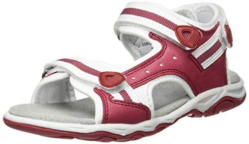 Kickers Jungen Unisex-Kinder Kiwi Sandalen, Pink (Rose Blanc 132), 25 EU