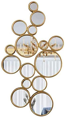 Special sale item HONYGE LXGANG Makeup Mirror Selling and selling Wall Multi Circle Large Shape