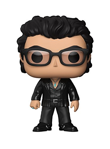 Funko- Pop Vinile Jurassic Park Dr. Ian Malcolm Personaggio, 9 cm, 26733