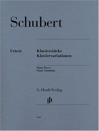 Klavierstücke - Klaviervariationen. Klavier