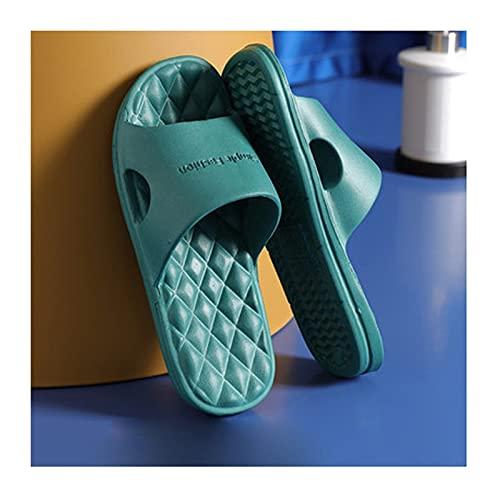 Hong Yi Fei-Shop Pantuflas Sandalias de baño Antideslizantes Sandalias de Ducha Soft Cómodas y Transpirables Zapatillas de Dormitorio House House Gym Pool Sandals Zapatillas de Playa Sandalias