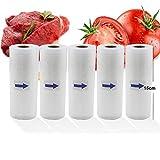 N-B Bolsa de vacío Hogar Cocina Alimentos Bolsa de vacío Máquina de Sellado Bolsa de Almacenamiento 5 Rollos/Lote