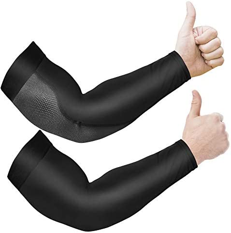 Arm Sleeves for Men and Women 2pc Anti Slip UPF 50 UV Sun Protector Arm Sleeve for Women Men product image