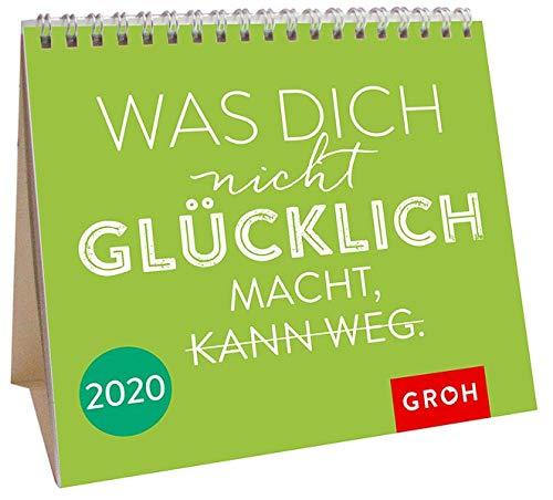Was dich nicht glücklich macht, kann weg 2020: Mini-Monatskalender