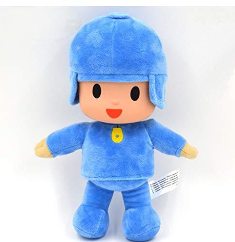 Peluches Pocoyo Friends Bandai Doll Pocoyo Elly Pato Peluches Peluches Brinquedos para Niños Niños Regalos De Cumpleaños 25 Cm