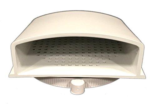 BUD Industries IPV-1116 IP32 ventilación de aire, 3.9