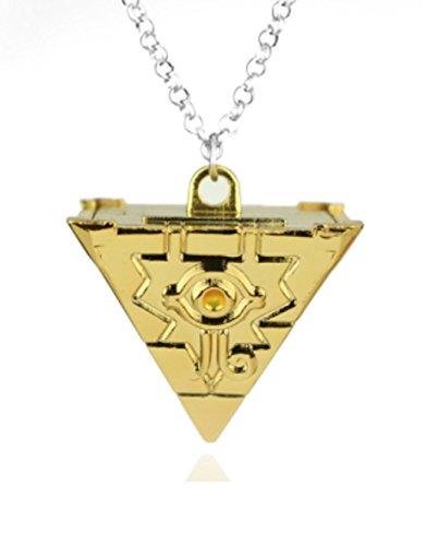 Aim And Achievekxgj Ziel und Erreichen 3D Yu-Gi-Oh Halskette Anhänger Cosplay Pyramide Ägyptische Auge des Horus - Yu Gi-Oh YM1
