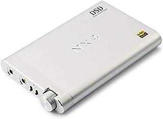 Topping NX4 DSD Headphone Amplifier XMOS-XU208 DAC ES9038Q2M Chip Portable Headphone Amplifier Decoder (Silver)