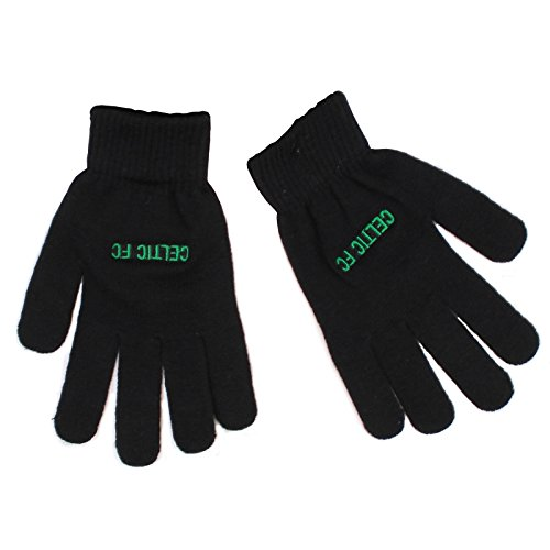Official Football Merchandise New Official Football Team Knitted Gloves (Celtic FC)