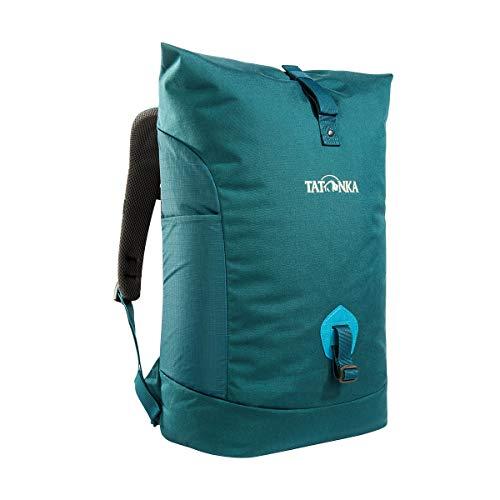 Tatonka Sac à dos unisexe pour adulte Grip Rolltop Pack S Vert sarcelle 50 x 28 x 13 cm