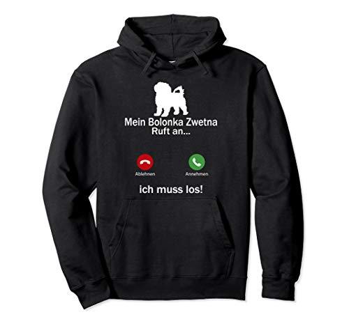 Aufruf an Haustierliebhaber Bolonka Zwetna Hund Pullover Hoodie