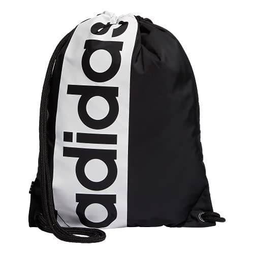 adidas Originals Court Lite Sackpack Mochila, Negro/blanco, Talla única Unisex