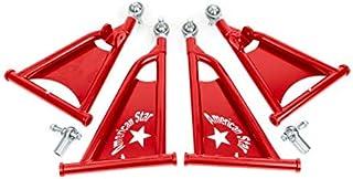 American Star 4130 Chromoly 1.5 Inch Forward A-Arms Polaris RZR 570 & 800 - ALL Years (Red)