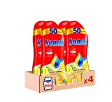 Somat Oro Gel Lavavajillas Limón – Pack de 4, Total: 200 Lavados