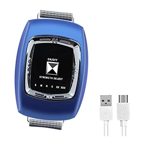 GJXJY Dejar para Roncar Dispositivos Antirronquidos, 2021 Anti Ronquidos Pulsera USB, Reloj Antirronquidos con 3 Modos y 6 Engranaje Ajustable para Mujeres Y Hombres