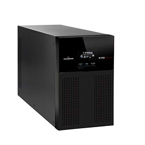Tecnoware UPS EVO DSP PLUS 1500 Gruppo di Continuità - Tecnologia On Line, Installazione Tower - 4 Uscite IEC - Autonomia fino a 20 min - Potenza 1500 VA