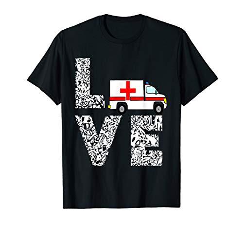 Krankenwagen Rettungsdienst Rettungshelfer Rettungswagen T-Shirt