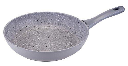 culinario Bratpfanne Ø 28cm, grau, Granit-Optik mit ILAG GRANITEC Beschichtung